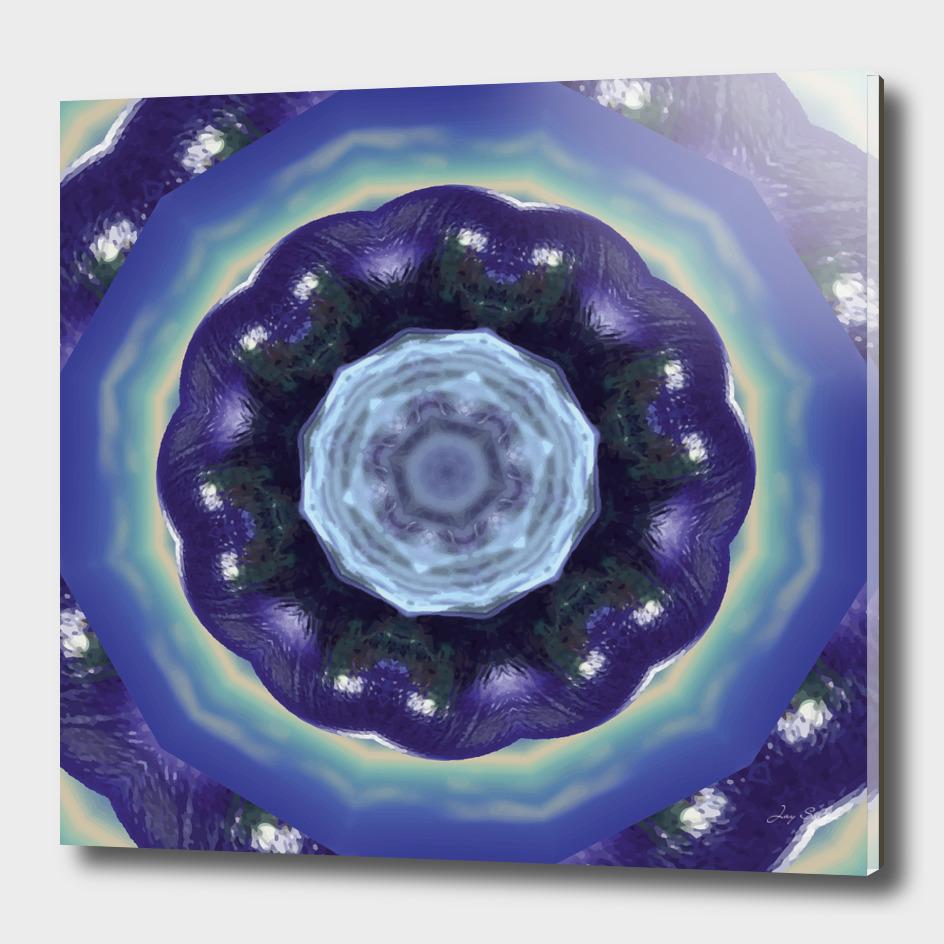 Cool World Digital Mandala