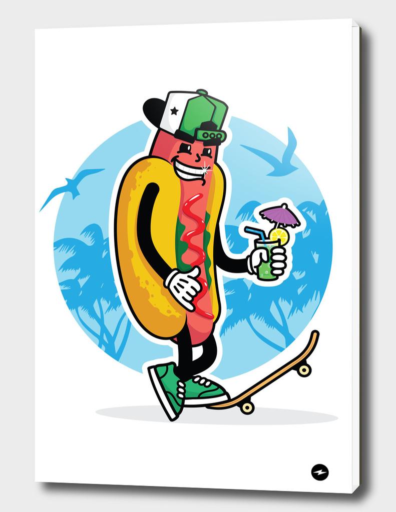 Hotdog dude