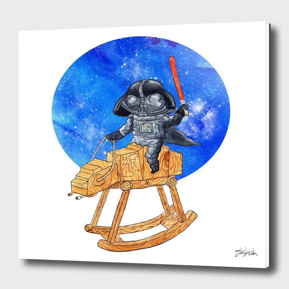 Kid Darth Vader