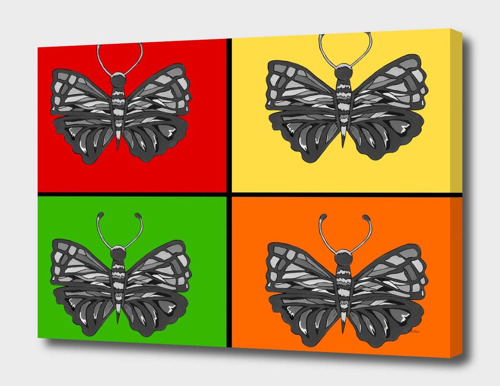 Tiled Butterflies