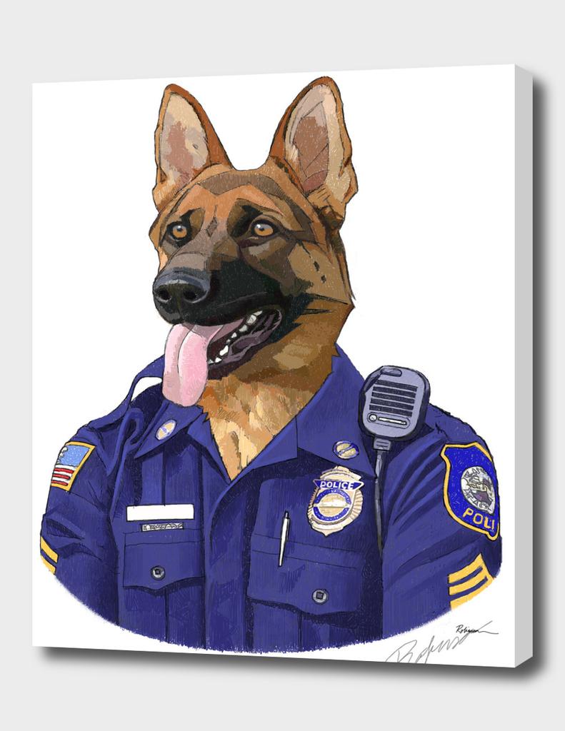Officer Max Shepherd