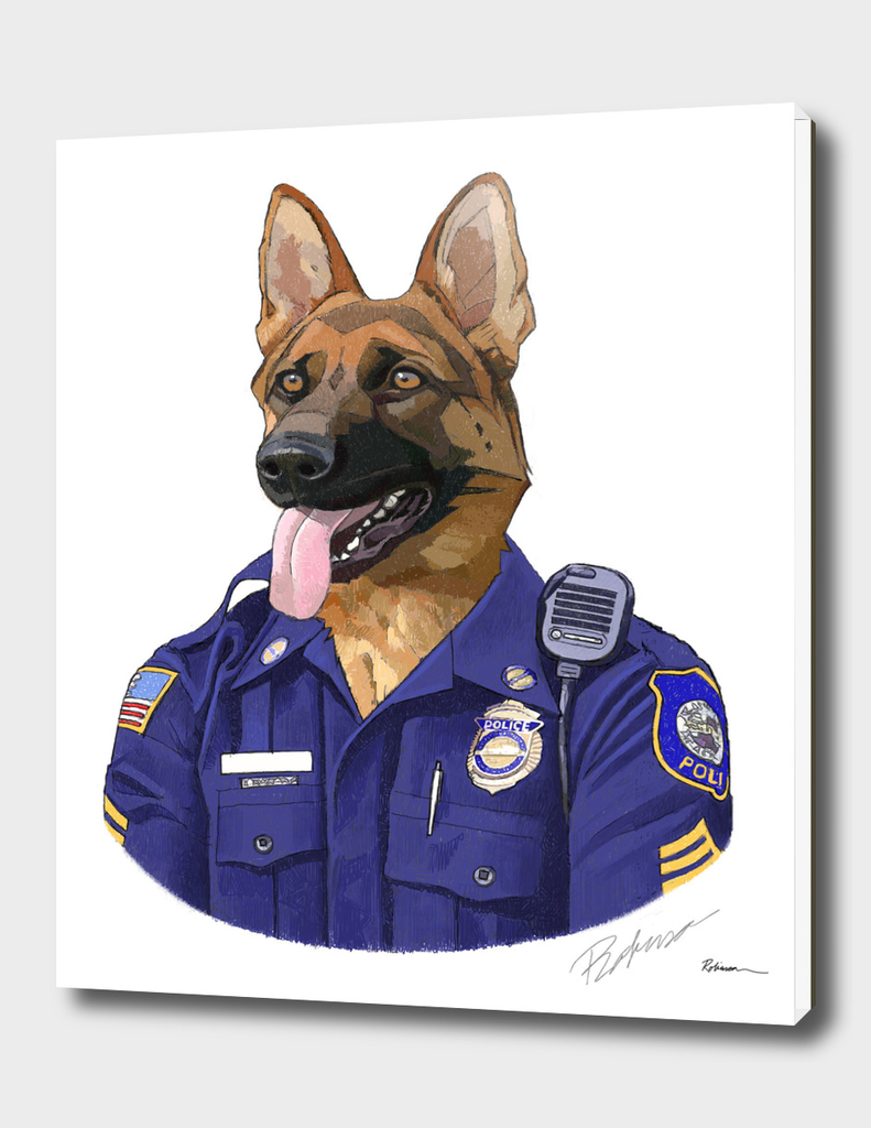 Officer Max Shepherd