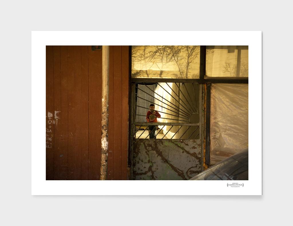 Kid in Skopje