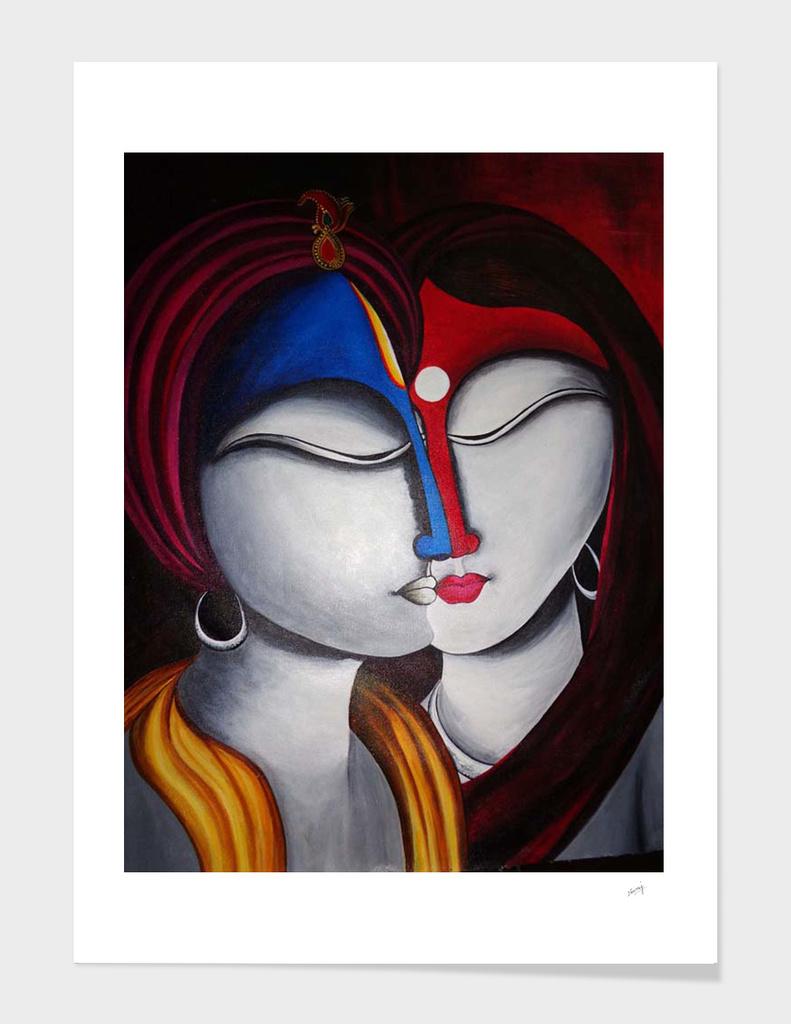 Krishna Radha Loving  Souls