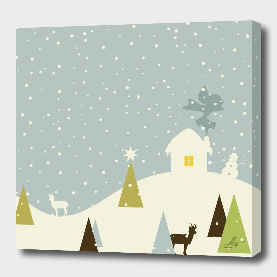 Christmas small house