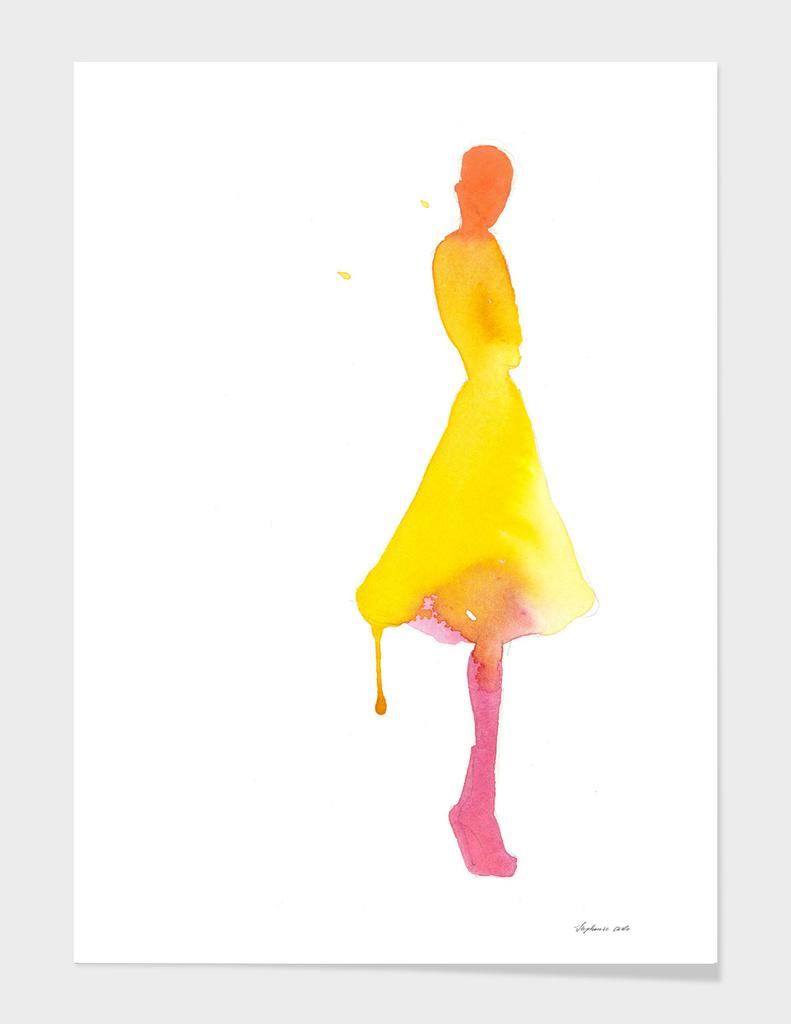 Dripping Yellow