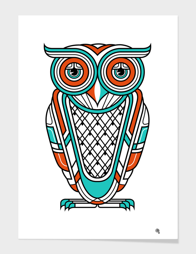 Art Dec Owl