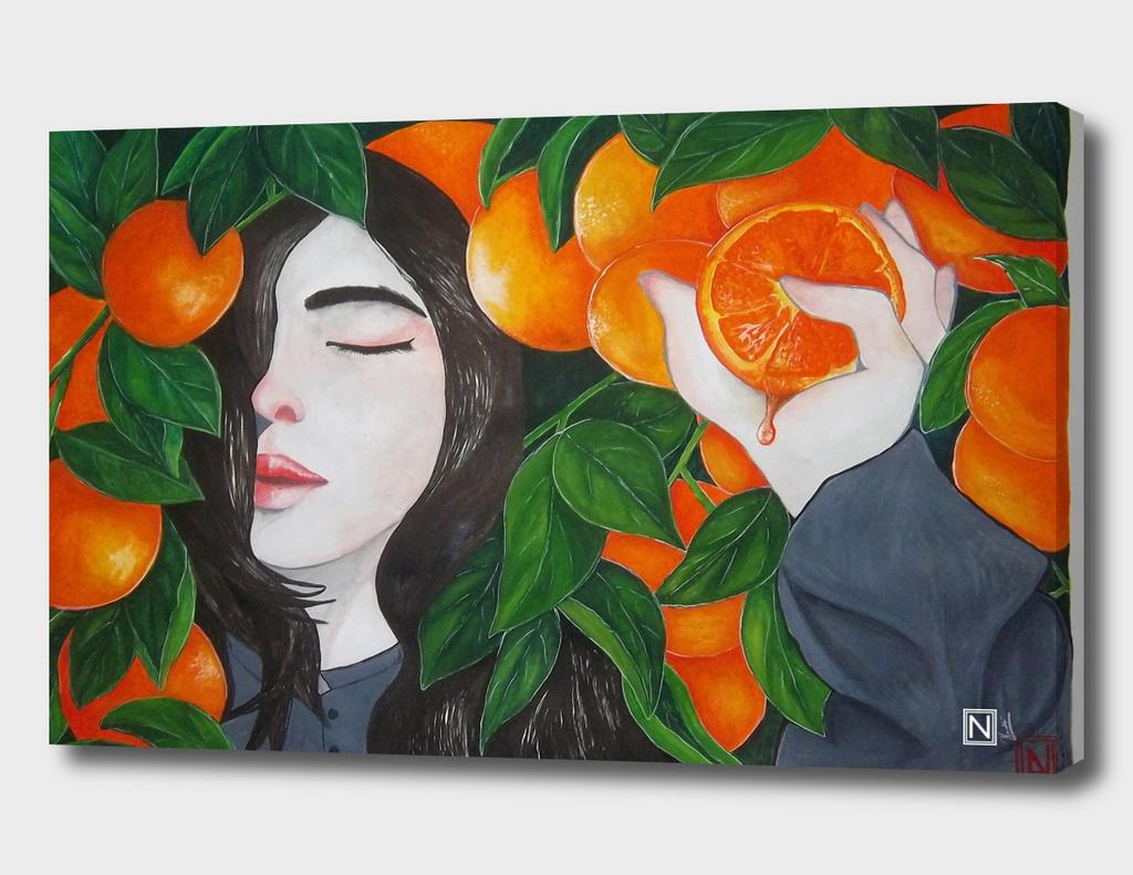 The Girl who loves Oranges
