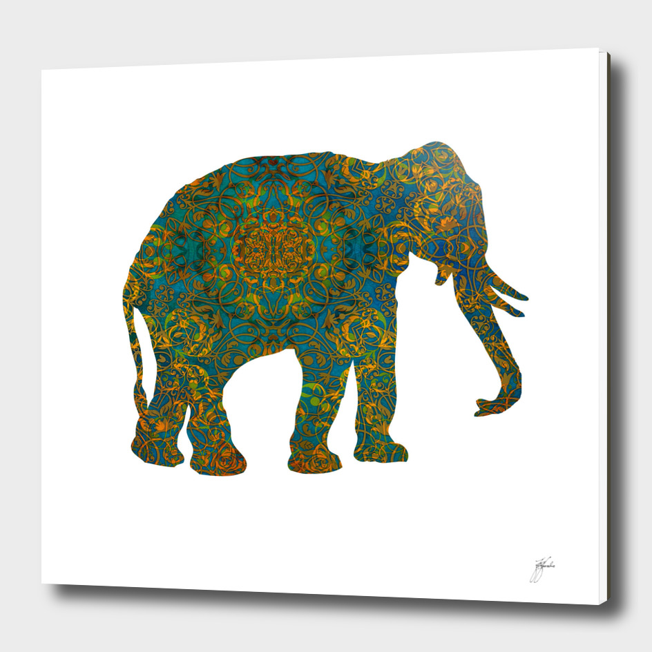 magic elephant art