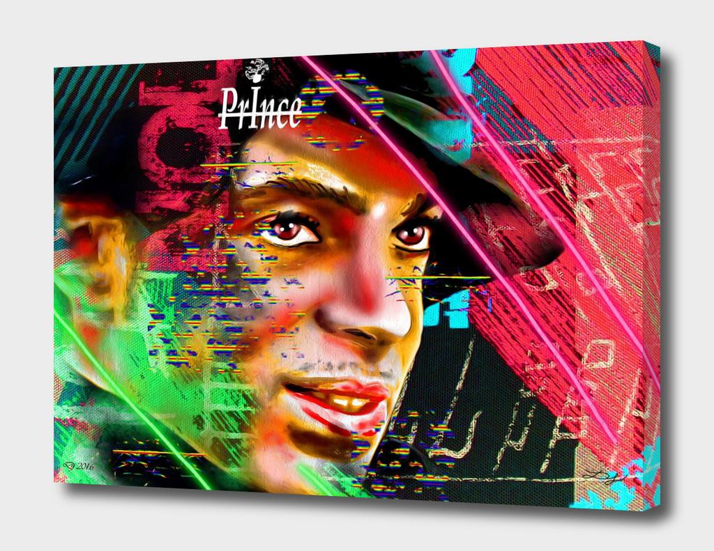 Prince Profile Painted
