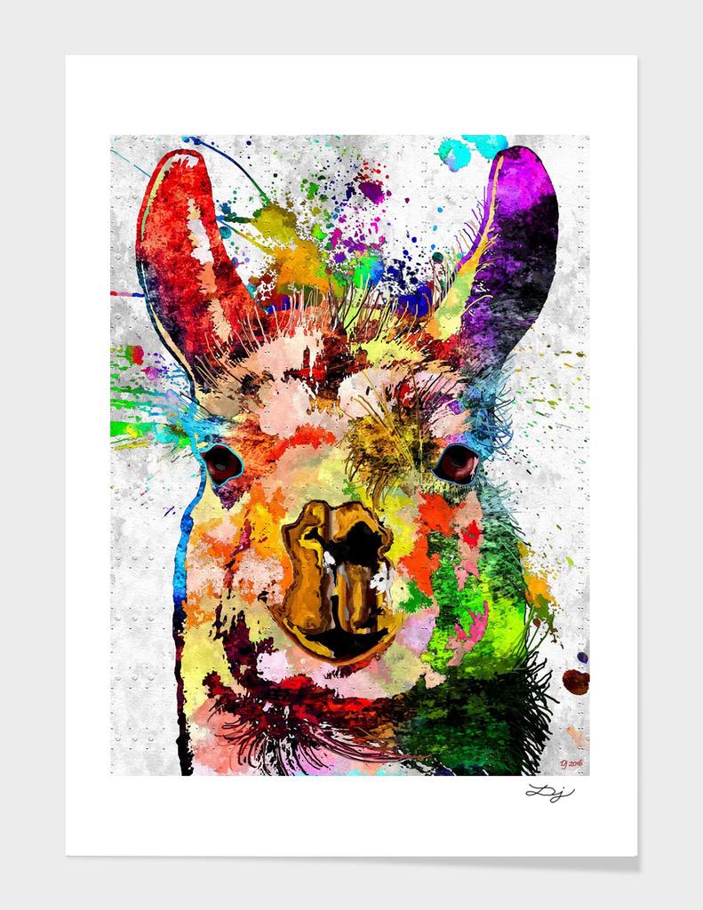 Llama - Lama Glama Grunge