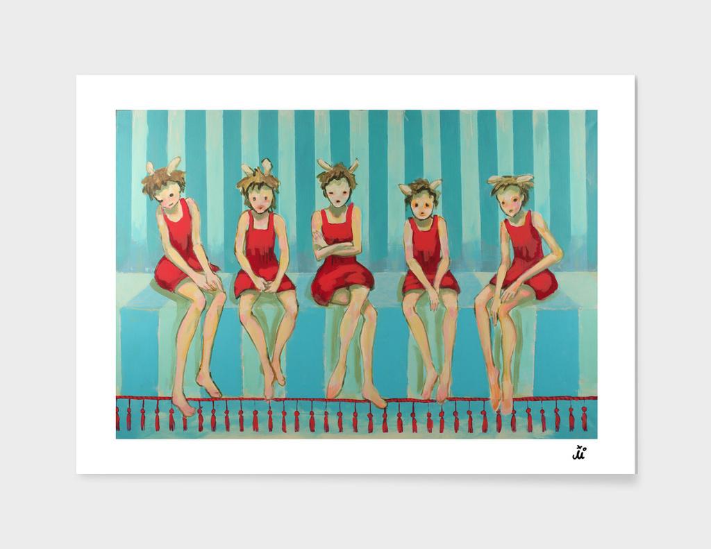 Five Red Riding Hoods III