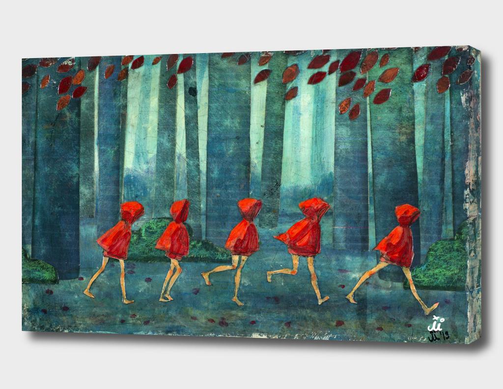 Five Little Red Riding Hoods 1/3