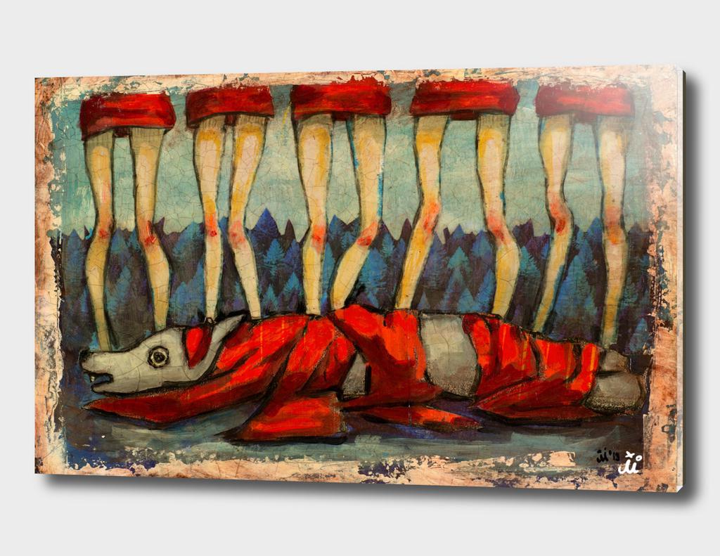 Five Little Red Riding Hoods II