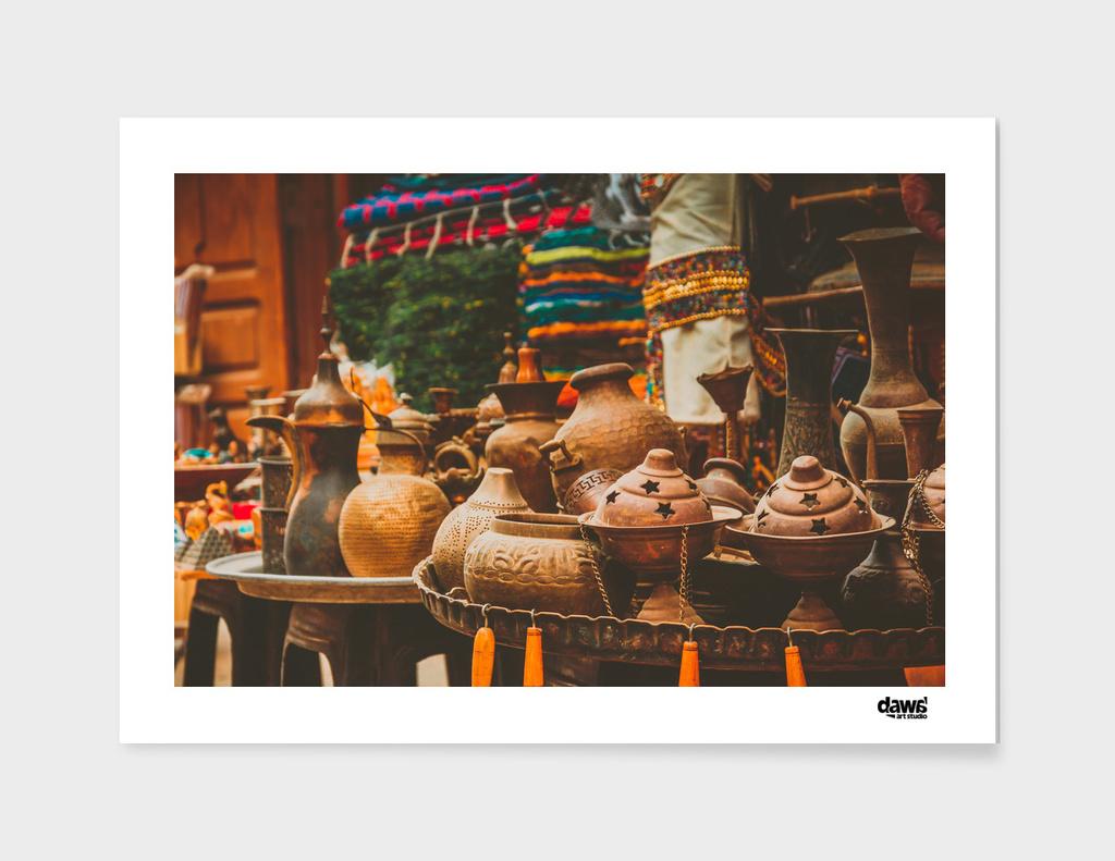 Antiques in El-Moez Street