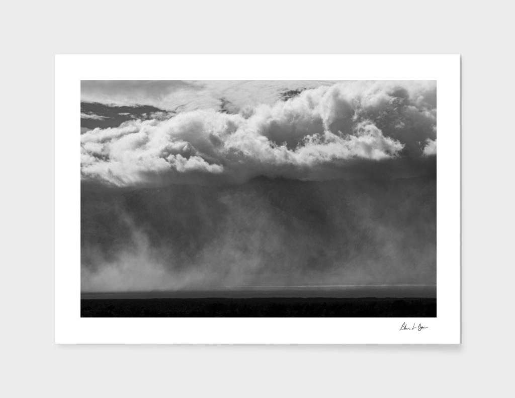 Saline Valley Storm 1
