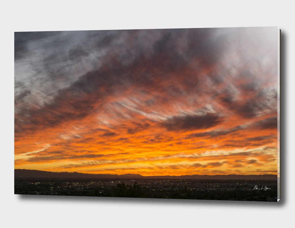 San Fernando Valley Sunset 1