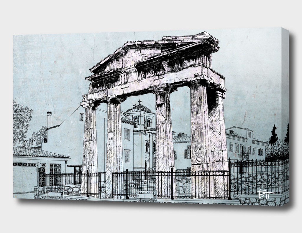 Old rain of Athens