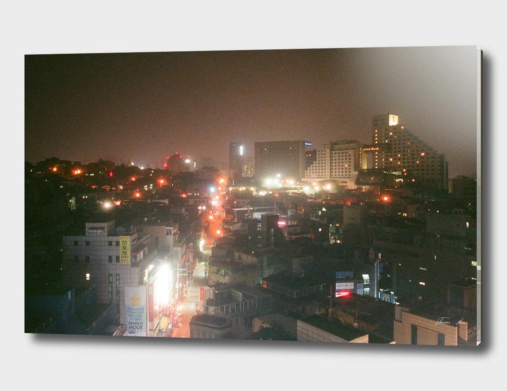 GANGNAM CITY SKYLINE