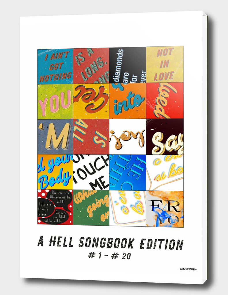 Hell Songbook Edition Complete # 1 - 20