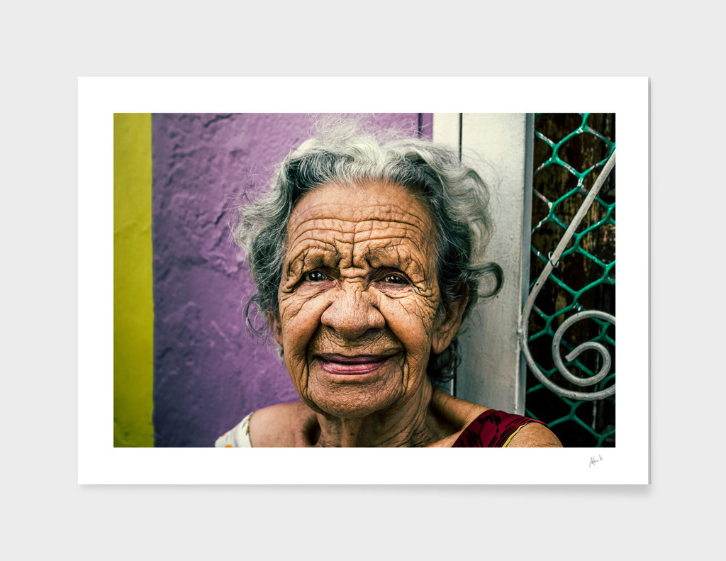 Old Lady from Santa Lucía