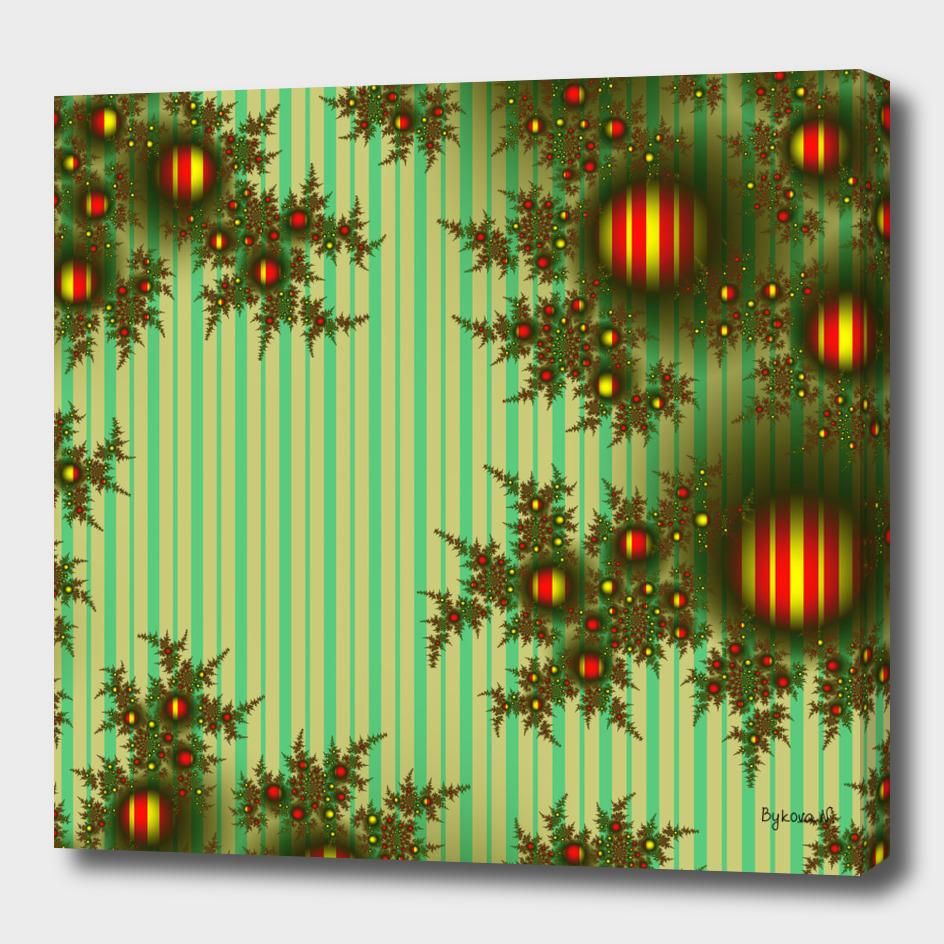 Vintage Christmas fractal