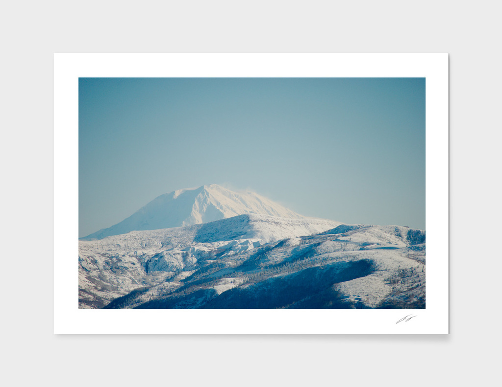 Mt Adams from Hellens