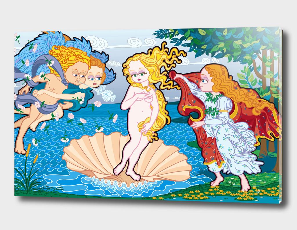 The Birth of Venus (Nascita di Venere) FNG version