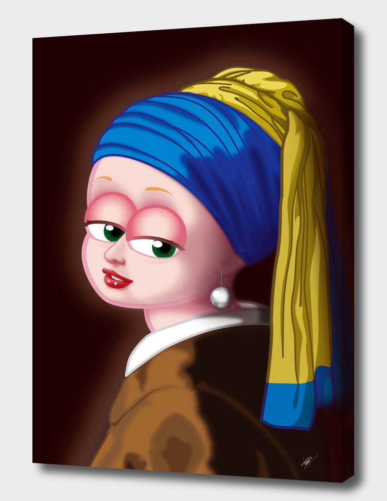 Girl with a Pearl Earring (Meisje met de parel) FNG version