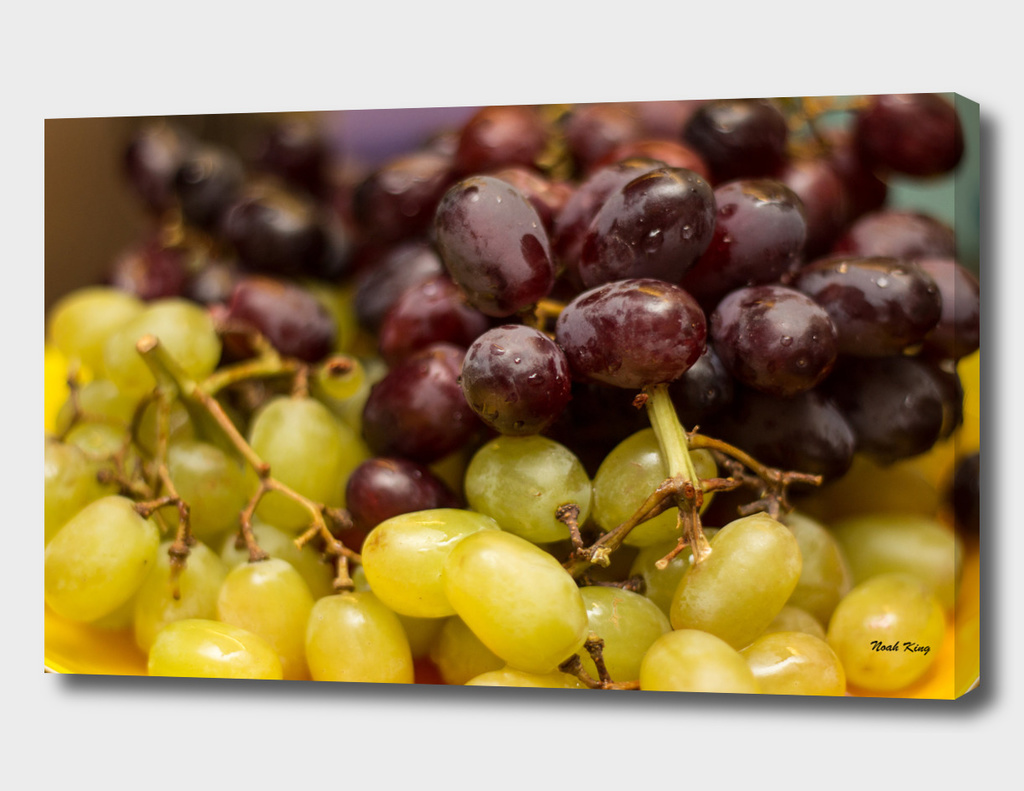 Red and Purple Grapes