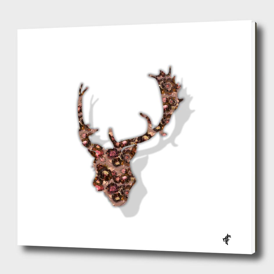 Deer in Floral Eve