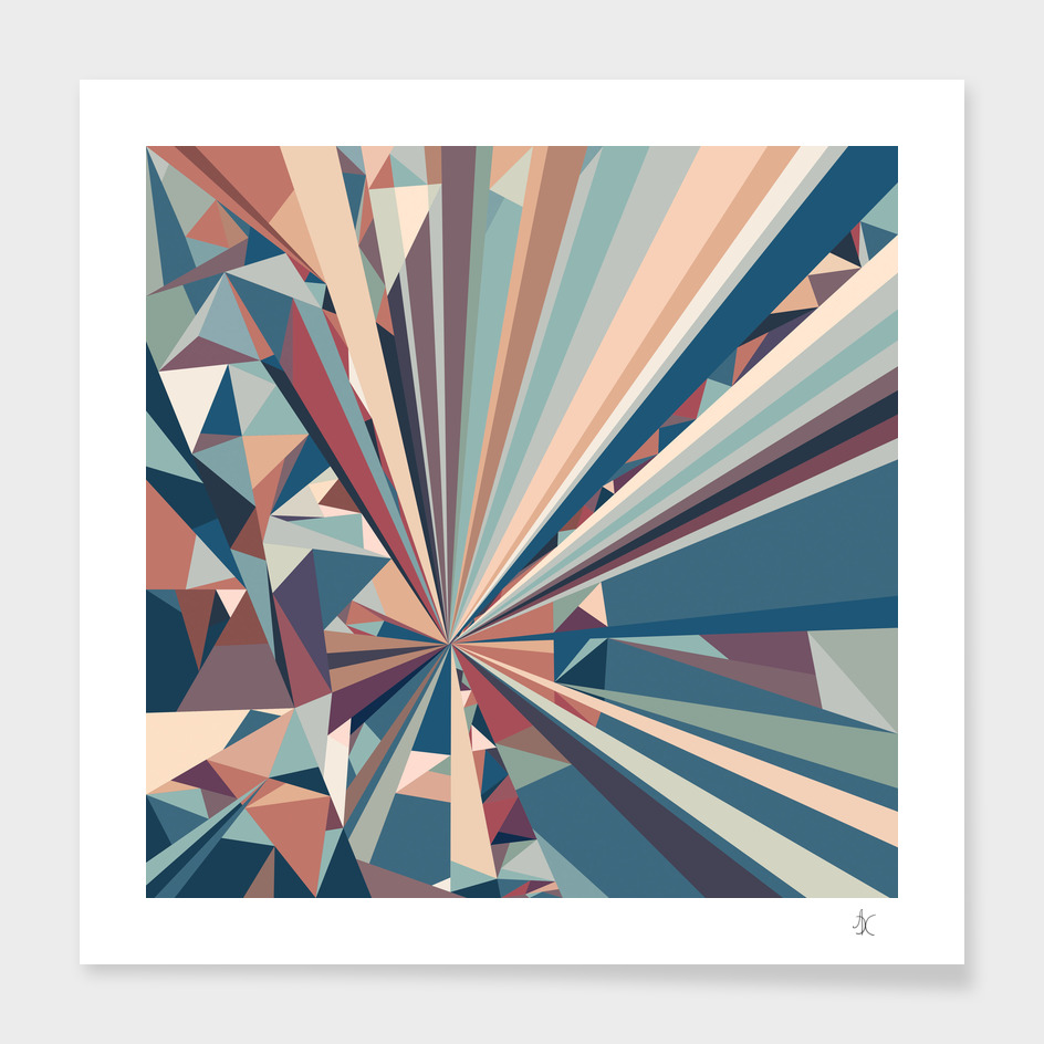 Polygonal Composition 2