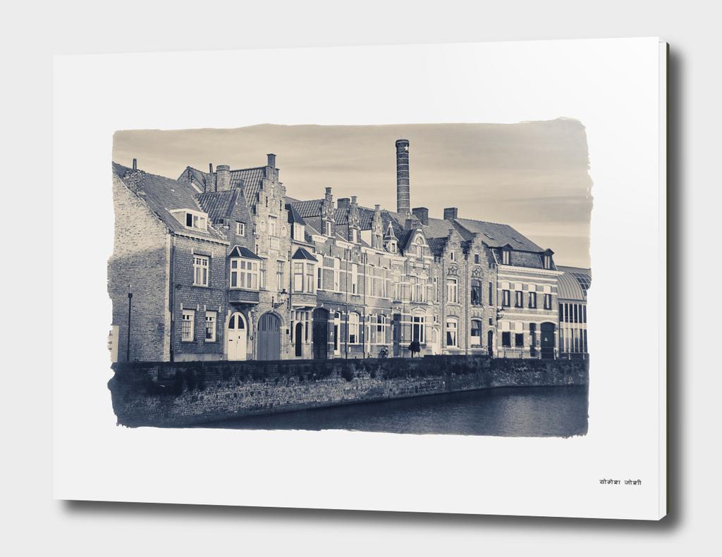 Across the Canal - Brugge, Belgium