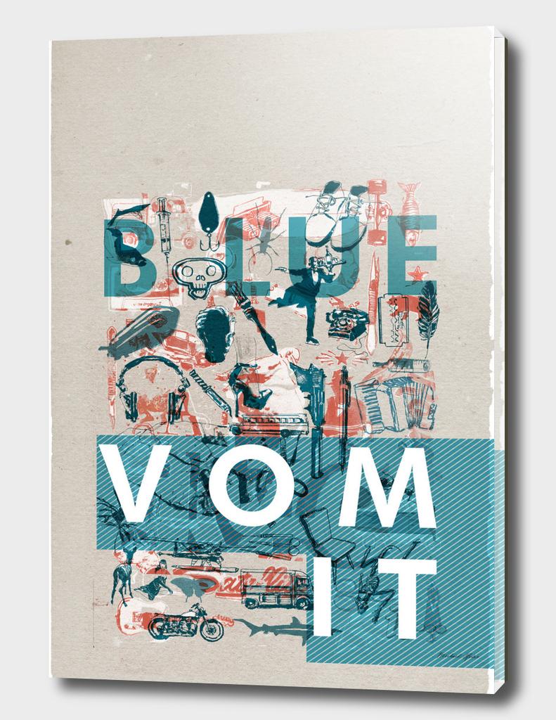 *BLUE VOMIT