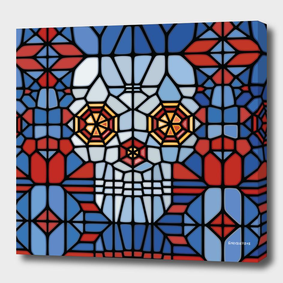 Crystal Skull Voronoi