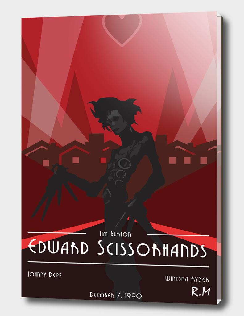 Edward Scissorhands Art Deco Style