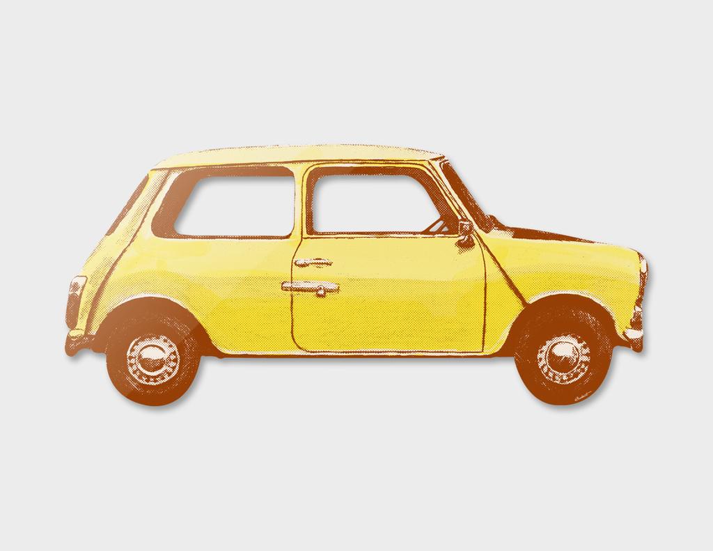 Famous Car #1 - Mr Bean's Mini