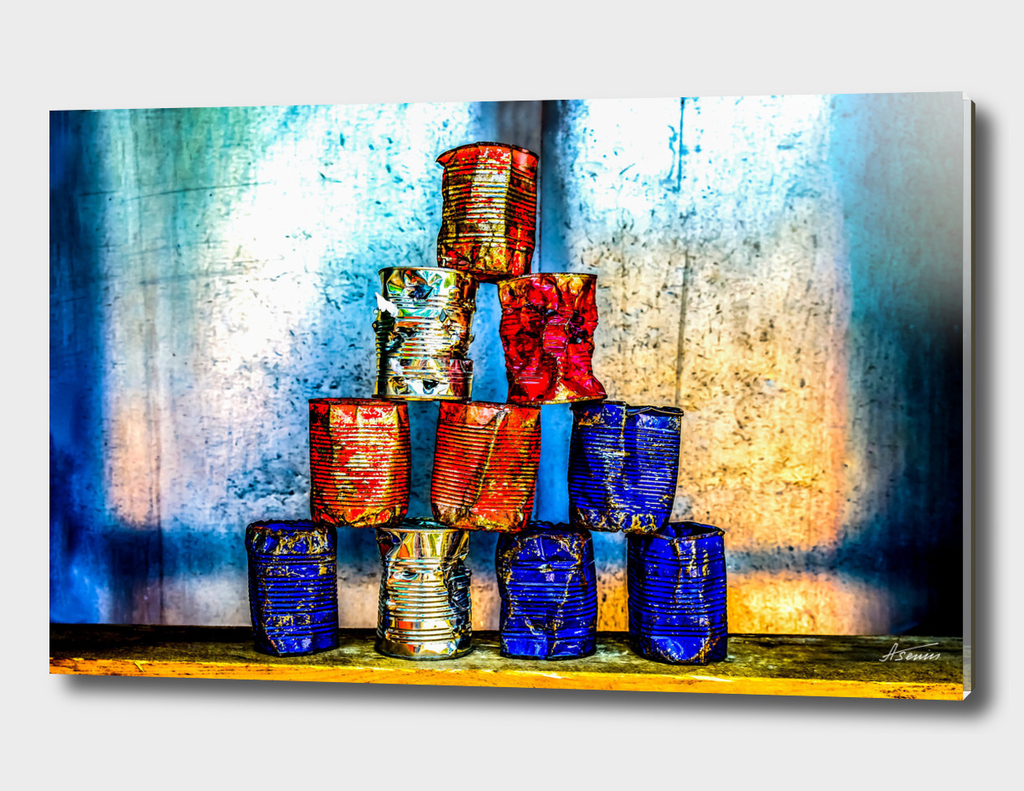 Soup Cans: After The Lunch