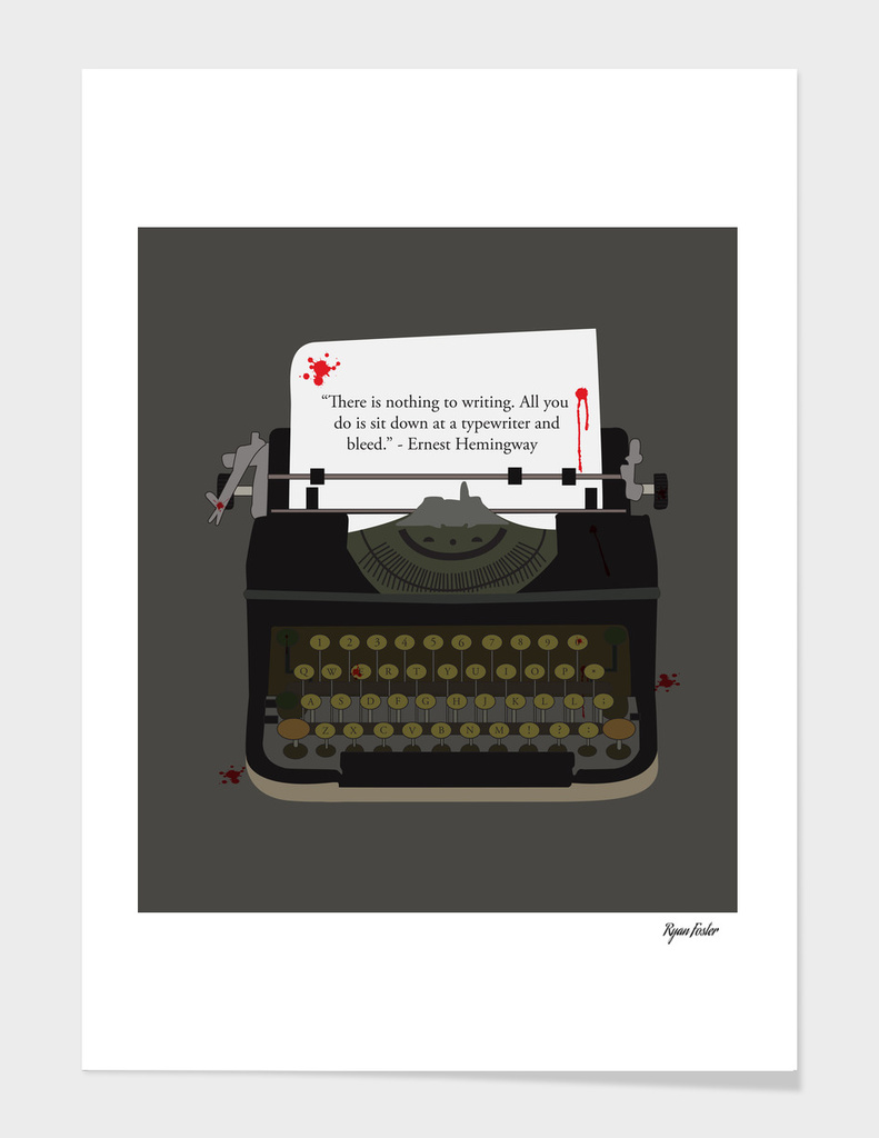 Bloody Typewriter