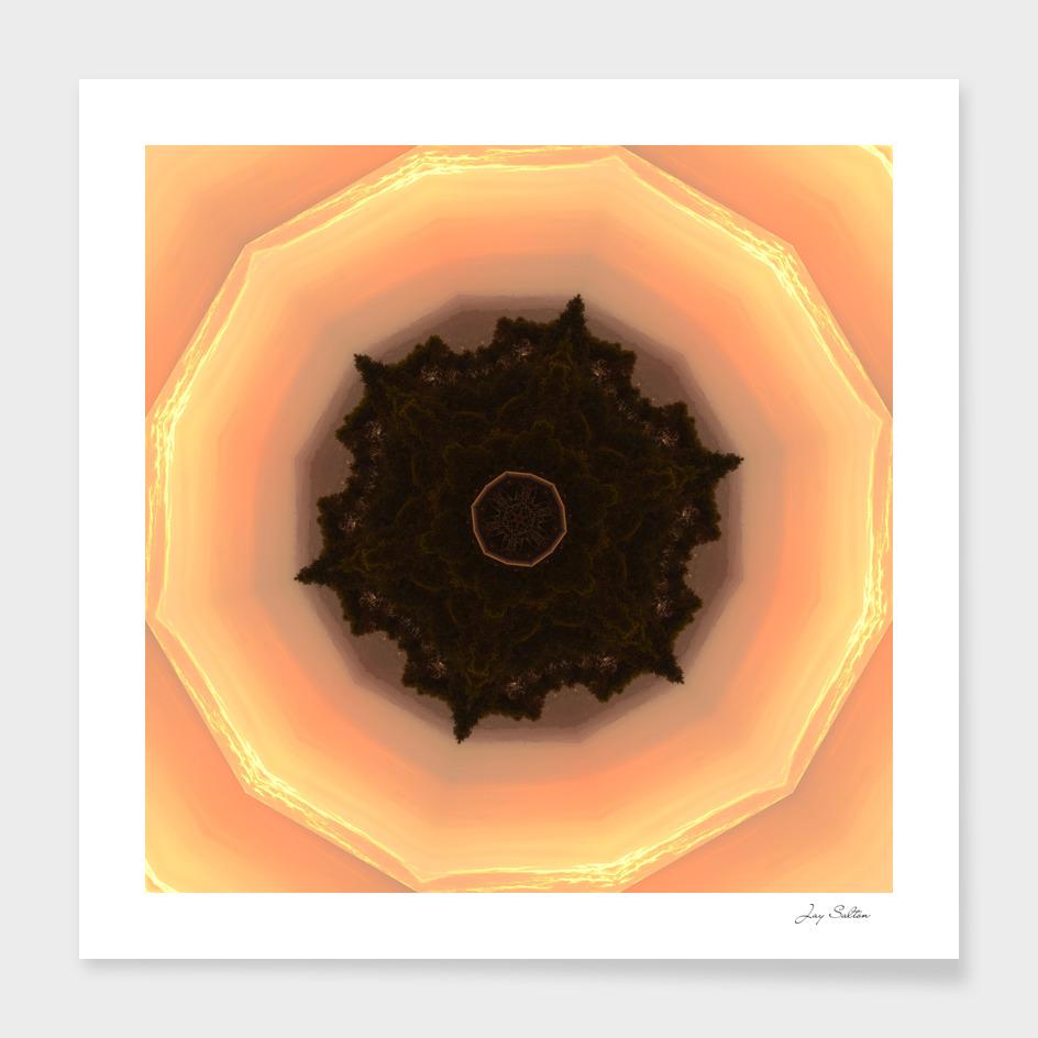 Sunset Mandala