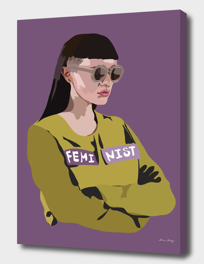 Feminist (Purple)