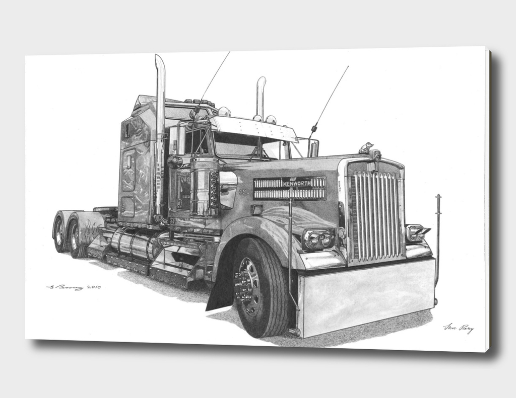 Redbubble Kenworth W900