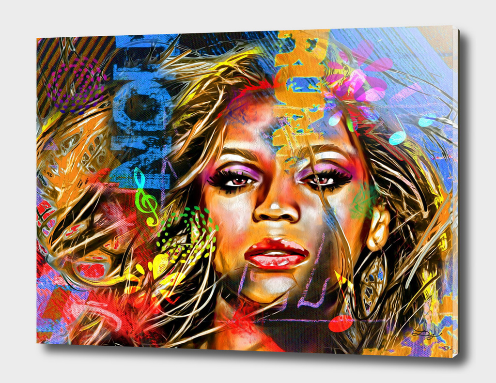 Beyonce Painted