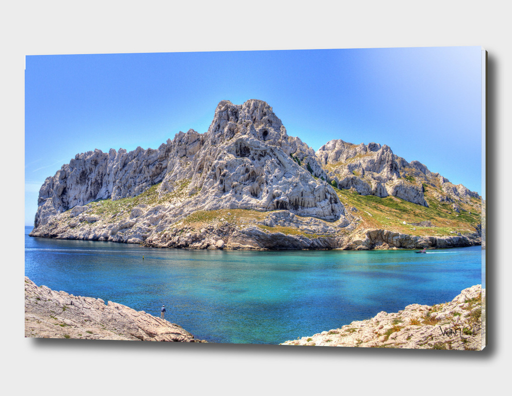 Maire island in Marseille , France