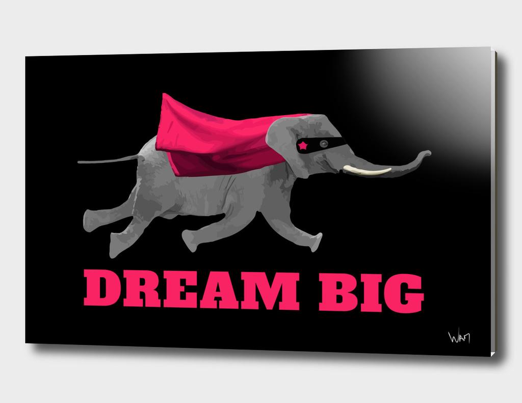 Dream big Flying elephant