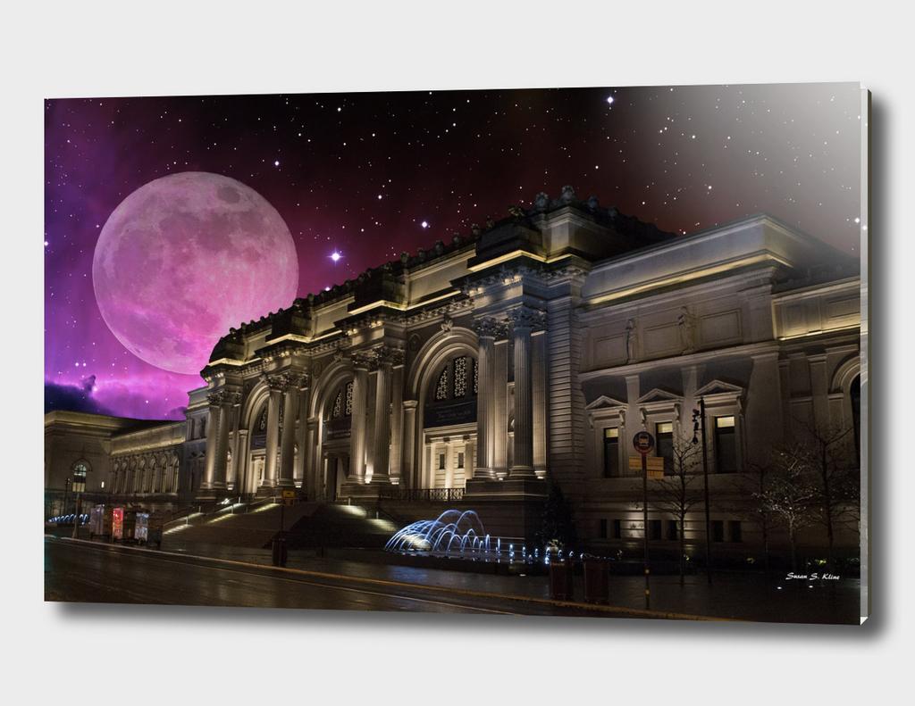 Spacey Metropolitan Museum New York