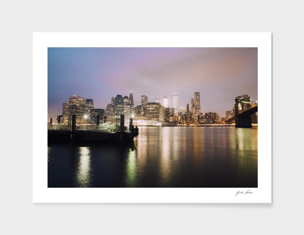 Manhattan from Dumbo Park