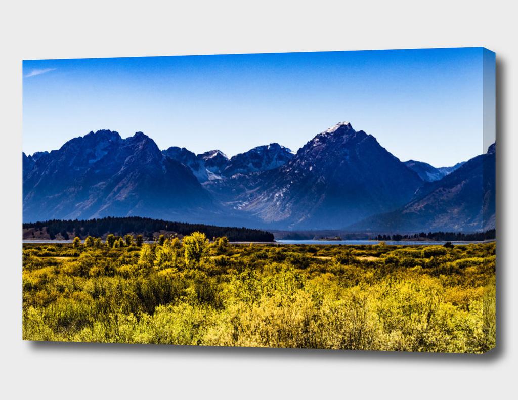 Grand Tetons in September