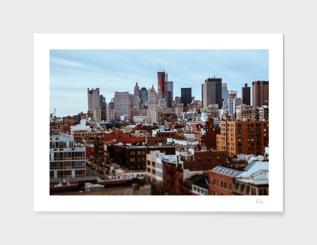 Lower Manhattan Tilt-Shift