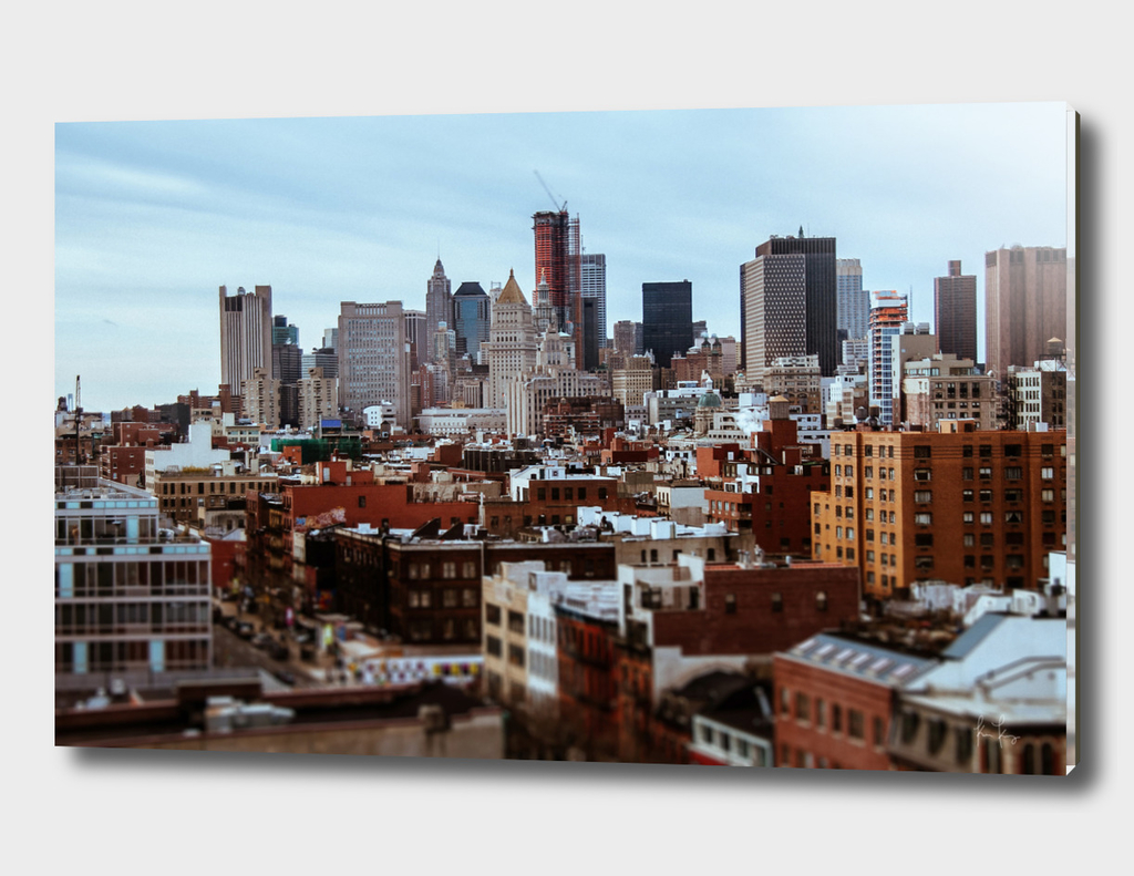 Lower Manhattan Tilt-Shift